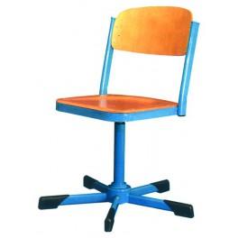 Židle na pohybovém šroubu
