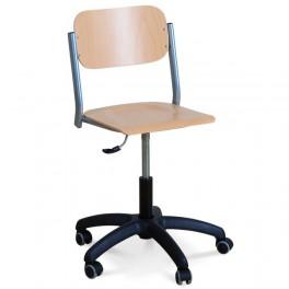 Židle na plynovém šroubu